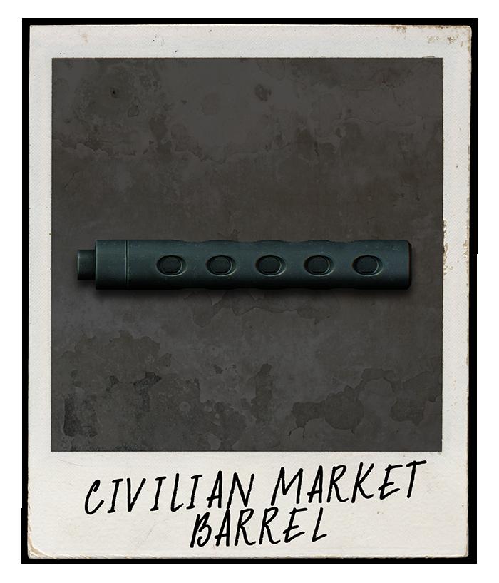Civilian Market Barrel