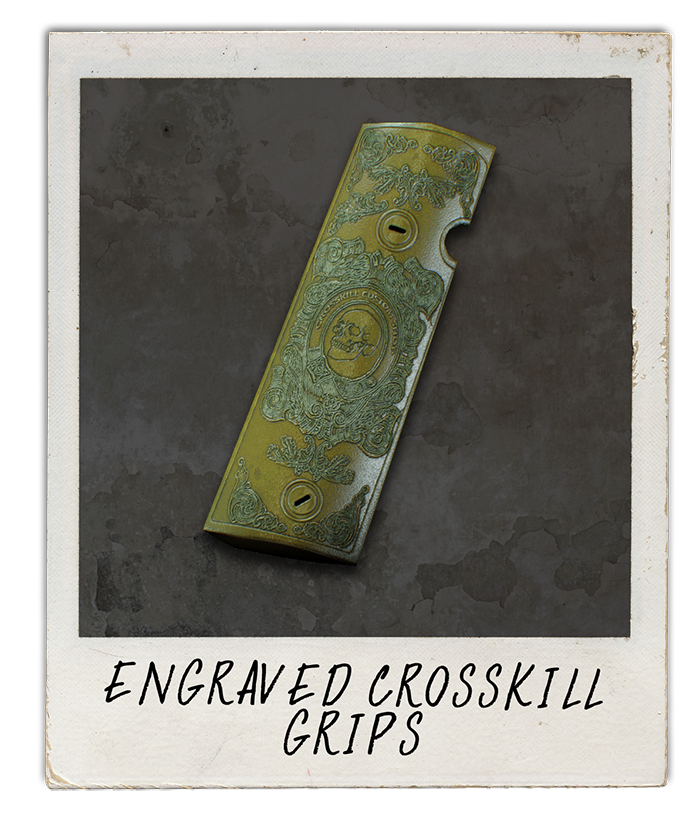 Engraved Crosskill Grips