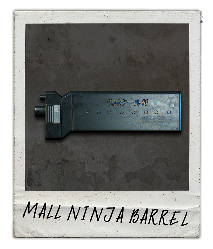 Mall Ninja Barrel