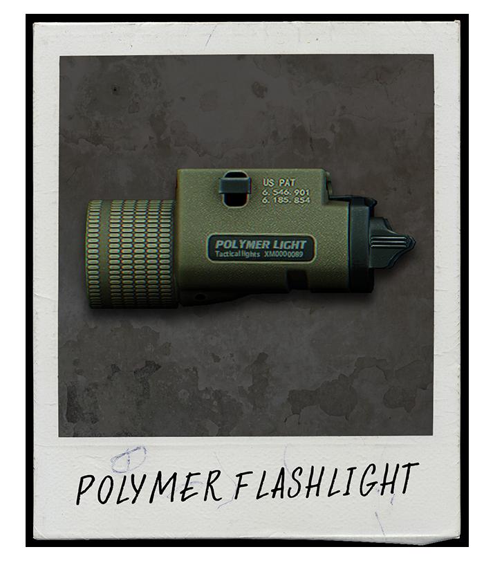 Polymer Flashlight
