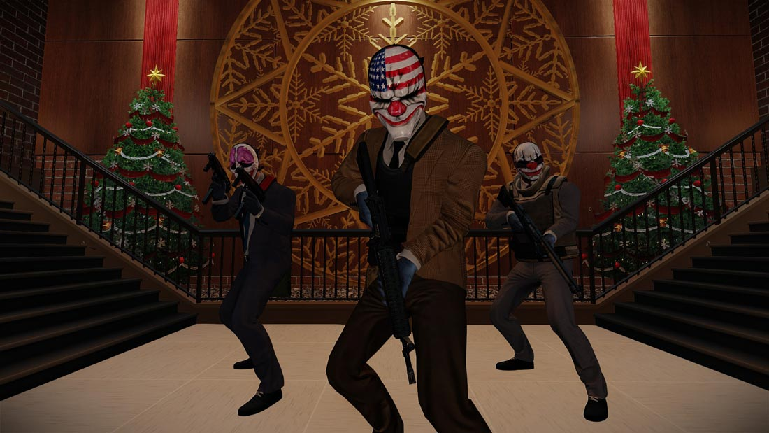 PAYDAY 2: Xmas Heist 2016 - OVERKILL Software