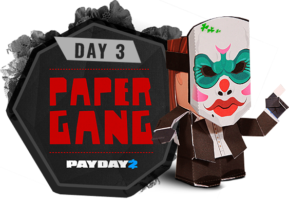 Day 3 - Paper Gang