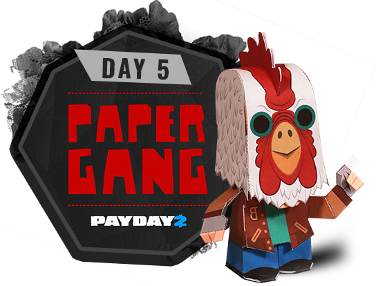 Day 5 - Paper Gang