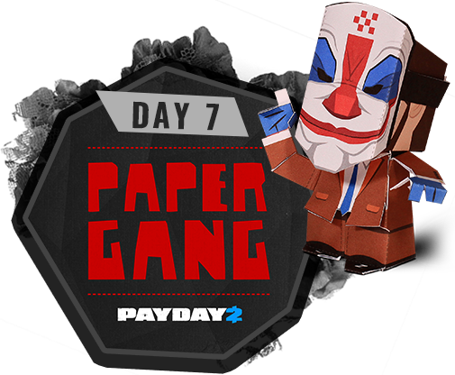 Day 7 - Paper Gang