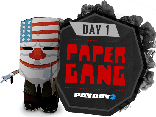 Day 1 - Paper Gang