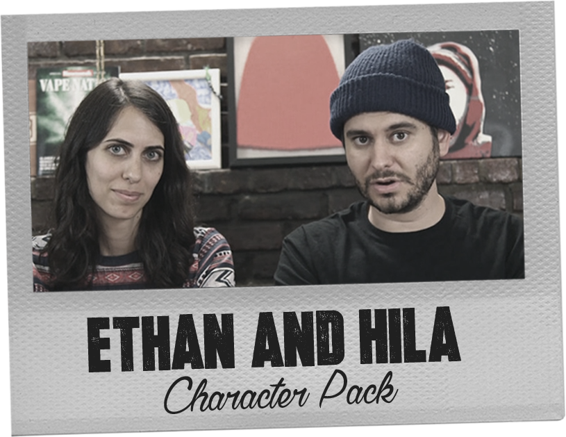 Ethan and Hila Character Pack