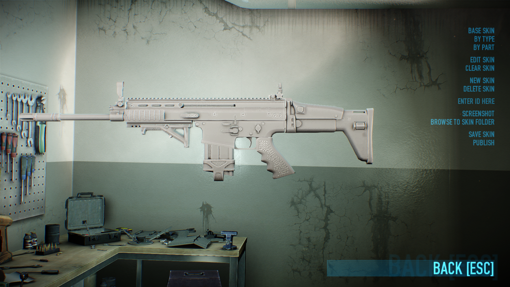Weapon Skins: Skin Application - PAYDAY 2 Workshop Manual